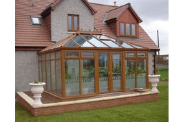 light oak edwardian conservatories