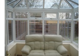 edwardian conservatory with staycool glass roof