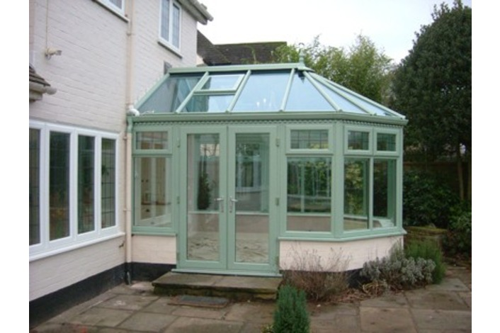 Chartwell Light Green Victorian Conservatory