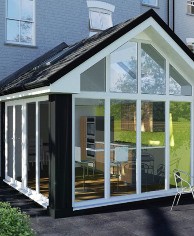 Introducing the conservatory that thinks it's an extension