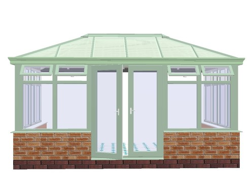 wood diy conservatory