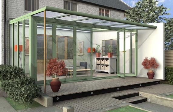 Choose a conservatory design from our range of edwardian for Garden room lean to