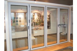 Panorama folding sliding door