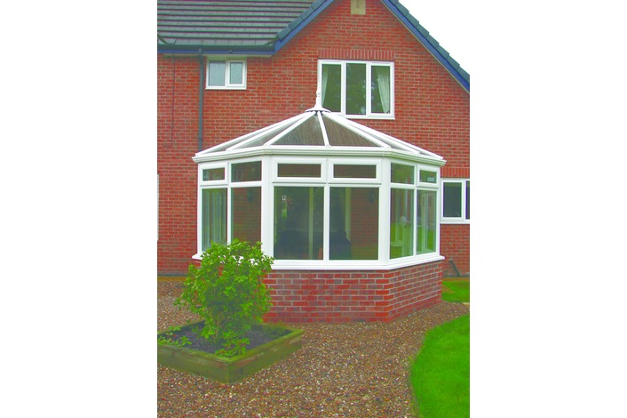 Your dream conservatory is now complete and ready for internal finishing with your choice of window boards, skirtings, flooring and lighting.