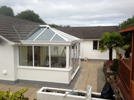 Customer gallery trade conservatories 2u for Adding a conservatory