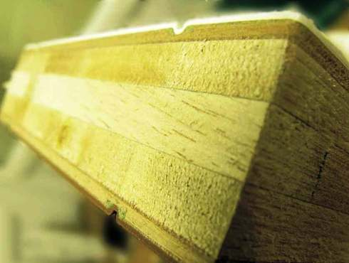 laminated timber core